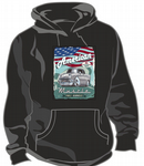KOOLART AMERICAN MUSCLE CAR Design For Retro 50's Chevy Bel Air Hot Rod Unisex Hoodie